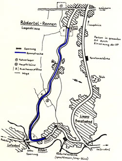 1985-1989 Länge: 1,98 km Flachbahnrennen