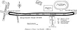 1954-1955 Länge: 1,850 km