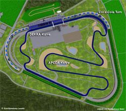 2000-heute Länge: 4,534 km GP-Strecke für Automobile verschiedene Streckenführung der Gegengeraden Variante mit Turn 1: 4,575 km ab 2007 veränderte Streckenführung der ersten Kurve ab 2008 veränderte Boxeneinfahrt