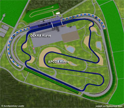 2000-heute Länge: 4,255-4,265 km GP-Strecke für Motorräder verschiedene Streckenführung der Gegengeraden