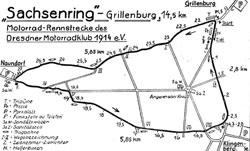 1927-1932 Länge: 14,5-14,8 km