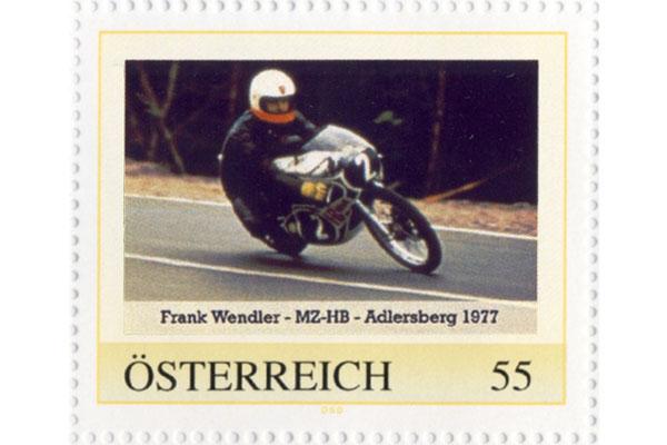 Briefmarke - Rennfahrzeuge des DDR-Motorsports - MZ-HB
