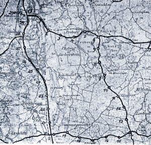"""1926-1931 Länge: 29,3-30 km """"Ostpreußenring"""""""