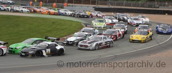 ADAC GT Masters Sachsenring 2012