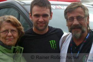 Gute Freunde: Margret Rossdeutscher, William Dunlop, Rainer Rossdeutscher