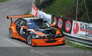 Pierre Beal auf dem Weg zum zweiten Platz in der Tourenwagenwertung