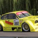 Holger Hovemann ist nach drei Jahren zurück. Die ersten Trainingsläufe im neuen Über-Kadett mit 5,7-Liter-Lotus-V8-Triebwerk verliefen problemlos.
