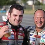 Michael Dunlop und Didier Grams (v.l.)