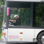 Der Bus-Shuttle brachte das Publikum zu den Zuschauerpunkten