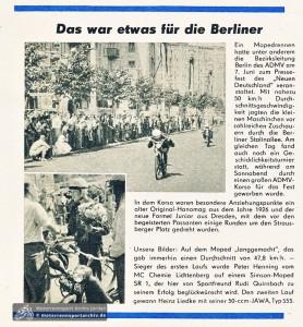 Aus dem Illustrierten Motorsport, Heft 14-1959