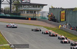 Das Safety Car war in den Rennen der Formel 4 besonders oft gefragt