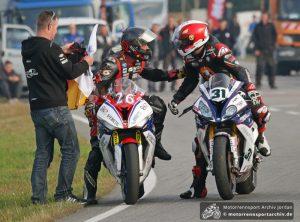 Didier Grams (26) und Michael Rutter (31)
