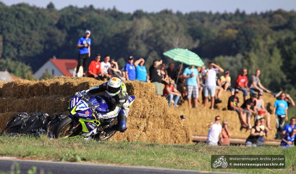 Thomas Walther siegte und holte noch den dritten Platz im Gesamtklassement der IRRC-Supersport.